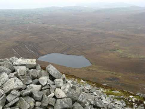 MountainViews.ie Picture about mountain Aghla Beg in area Donegal NW, Ireland