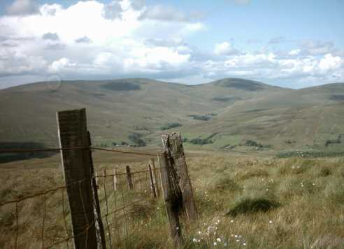 MountainViews.ie Picture about mountain Carnanelly (<i>Carnán Aichle</i>) in area Sperrin Mountains, Ireland