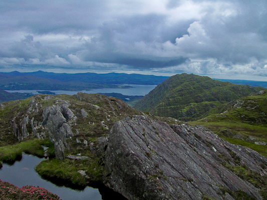 MountainViews.ie Picture about mountain Sugarloaf Mtn West Top in area Caha Mountains, Ireland