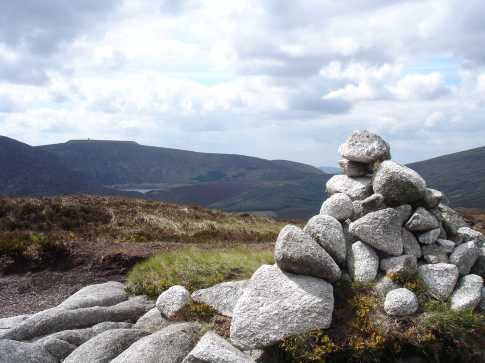 MountainViews.ie Picture about mountain Brockagh Mountain in area Dublin/Wicklow, Ireland