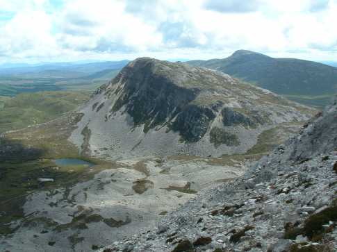 MountainViews.ie Picture about mountain Mackoght in area Donegal NW, Ireland