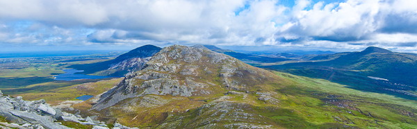MountainViews.ie Picture about mountain Mac Uchta in area Donegal NW, Ireland