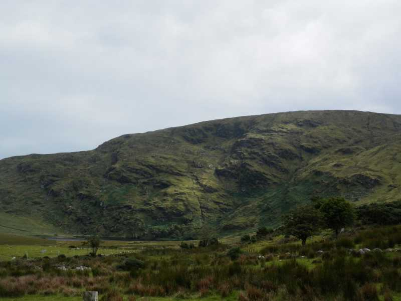 MountainViews.ie Picture about mountain Knockalongy in area Ox Mountains, Ireland