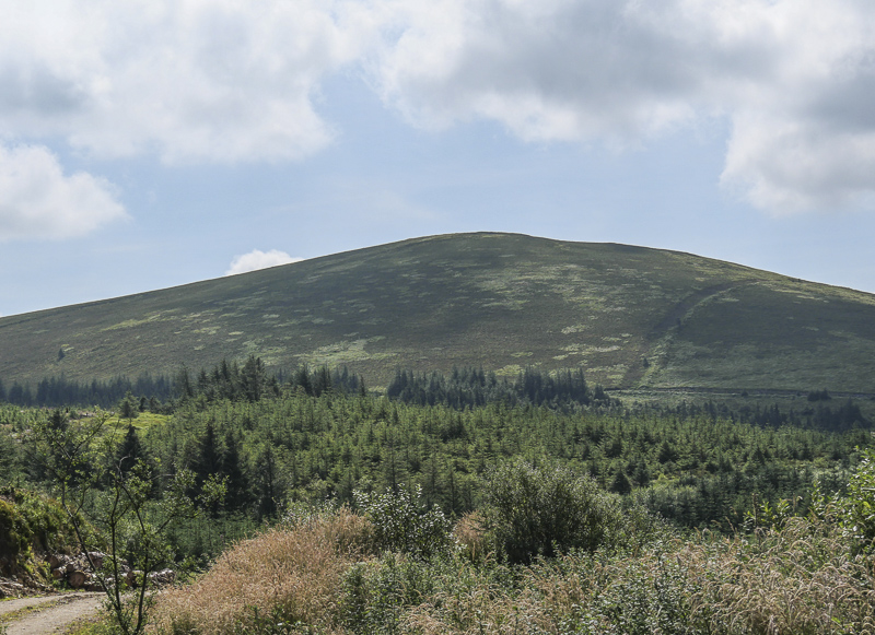 MountainViews.ie Picture about mountain Mauherslieve (<i>Motharshliabh</i>) in area Midlands SW, Ireland