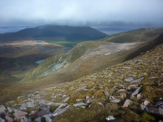 MountainViews.ie Picture about mountain Slieve Aghkerane in area Achill/Corraun, Ireland