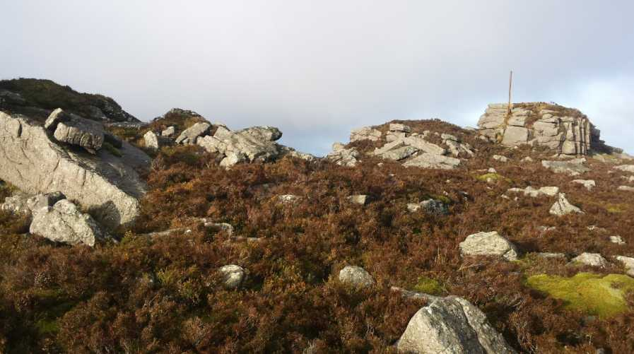 MountainViews.ie Picture about mountain Sturrakeen in area Galty Mountains, Ireland