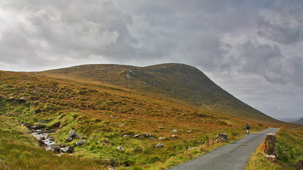 MountainViews.ie Picture about mountain Moylenanav in area Donegal NW, Ireland