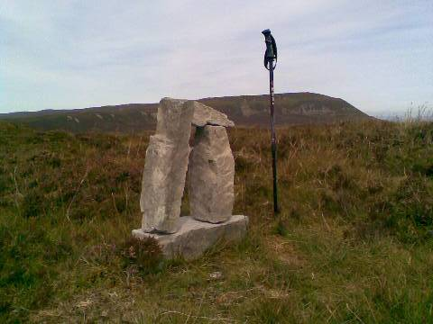 MountainViews.ie Picture about mountain Benbeg in area Breifne, Ireland