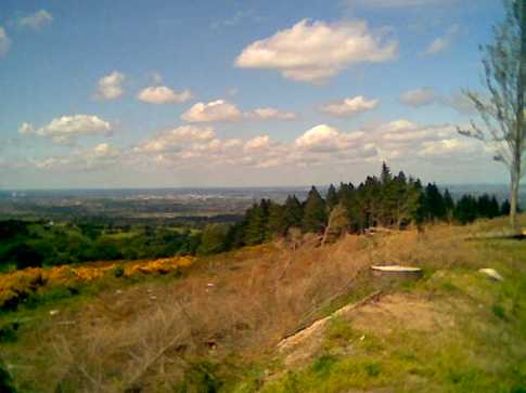 MountainViews.ie Picture about mountain Two Rock Mountain in area Dublin/Wicklow, Ireland