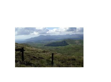 MountainViews.ie Picture about mountain Slieve Croob (<i>Sliabh Crúibe</i>) in area Mourne Mountains, Ireland