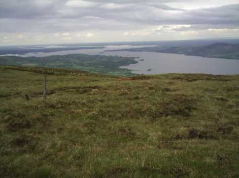 MountainViews.ie Picture about mountain Moylussa in area Shannon, Ireland
