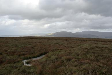MountainViews.ie Picture about mountain Corriebracks (<i>Coire Breac</i>) in area Wicklow, Ireland