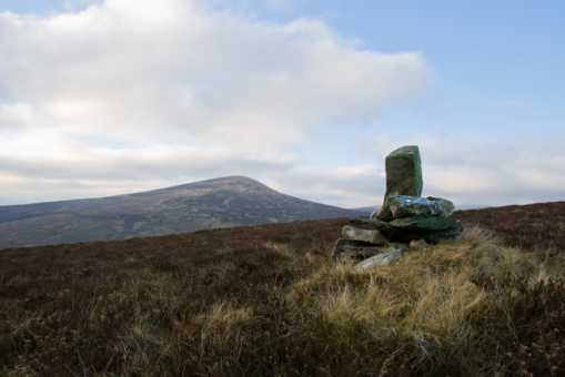 MountainViews.ie Picture about mountain Ballinacor Mountain in area Dublin/Wicklow, Ireland