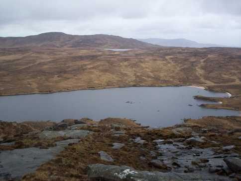MountainViews.ie Picture about mountain An Cnoc Fada in area Donegal NW, Ireland