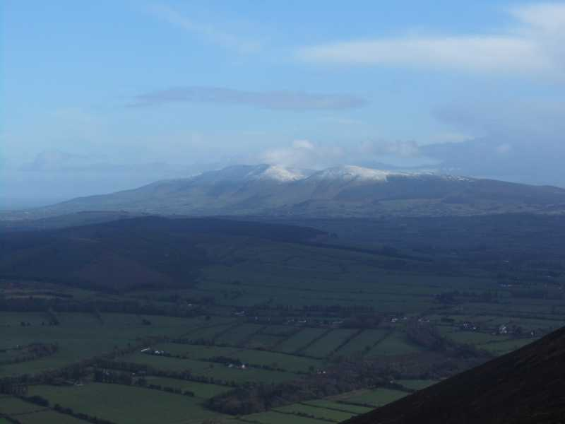 MountainViews.ie Picture about mountain Seefin Mountain W Top in area Ballyhoura Mountains, Ireland
