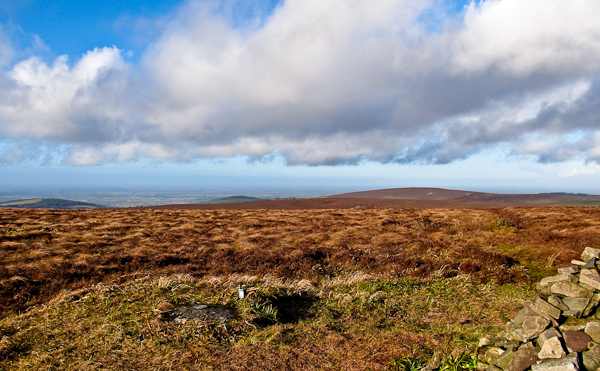 MountainViews.ie Picture about mountain Arderin in area Slieve Bloom, Ireland