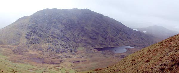 MountainViews.ie Picture about mountain Doughruagh in area Twelve Bens, Ireland