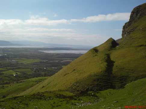 MountainViews.ie Picture about mountain Benbulbin in area Dartry Mountains, Ireland