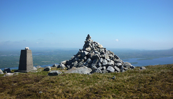 MountainViews.ie Picture about mountain Arroo Mountain in area Dartry Mountains, Ireland