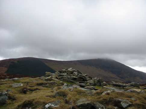 MountainViews.ie Picture about mountain Slievebawn in area Blackstairs Mountains, Ireland