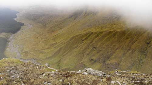 MountainViews.ie Picture about mountain Barnahowna in area Partry/Joyce Country, Ireland