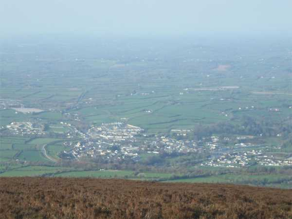 MountainViews.ie Picture about mountain Brandon Hill in area South Midlands, Ireland