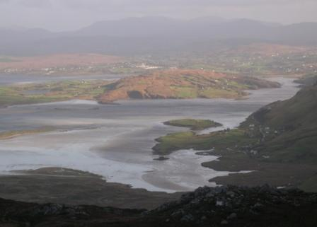 MountainViews.ie Picture about mountain Sliabh Tuaidh in area Donegal SW, Ireland
