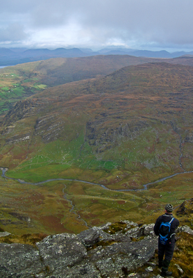 MountainViews.ie Picture about mountain Cummeenbaun in area Caha Mountains, Ireland