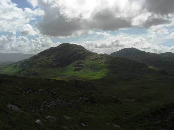 MountainViews.ie Picture about mountain Knockanaguish in area Mangerton, Ireland