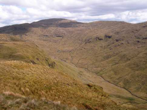 MountainViews.ie Picture about mountain Binnasruell in area Bluestack Mountains, Ireland