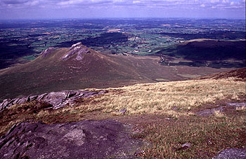 MountainViews.ie Picture about mountain Cock Mountain in area Mourne Mountains, Ireland