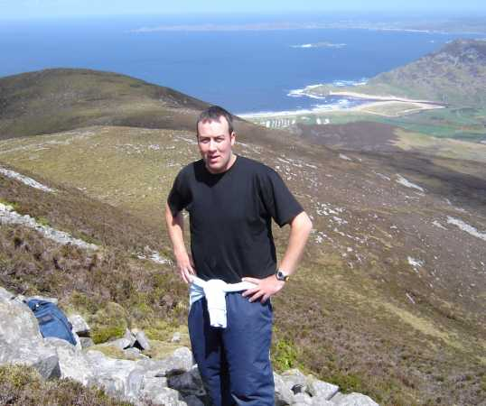 MountainViews.ie Picture about mountain Raghtin More in area Inishowen, Ireland
