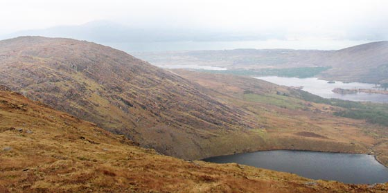 MountainViews.ie Picture about mountain Knockreagh in area Caha Mountains, Ireland