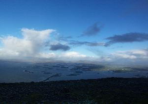 MountainViews.ie Picture about mountain Crott Mountain (<i>An Chrot</i>) in area Croagh Patrick, Ireland