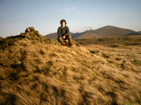 MountainViews.ie Picture about mountain Butter Mountain in area Mourne Mountains, Ireland