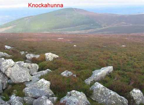 MountainViews.ie Picture about mountain Knockahunna in area South Midlands, Ireland