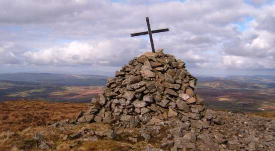 MountainViews.ie Picture about mountain Mullaghcarbatagh in area Sperrin Mountains, Ireland