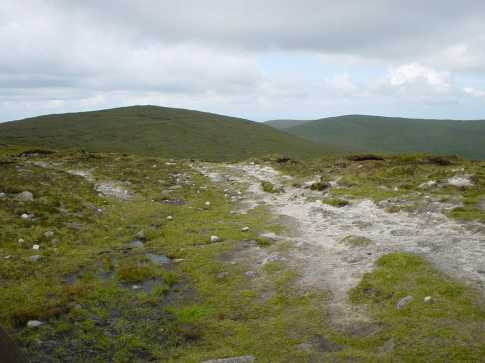 MountainViews.ie Picture about mountain Ott Mountain in area Mourne Mountains, Ireland