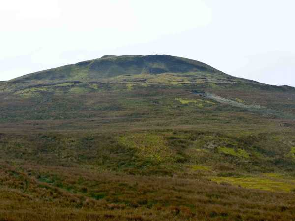 MountainViews.ie Picture about mountain Benbrack NE Top in area Breifne, Ireland