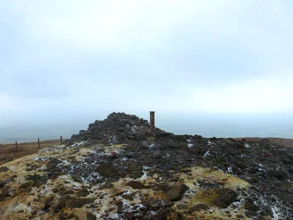 MountainViews.ie Picture about mountain Slieve Gallion NE Top in area Sperrin Mountains, Ireland