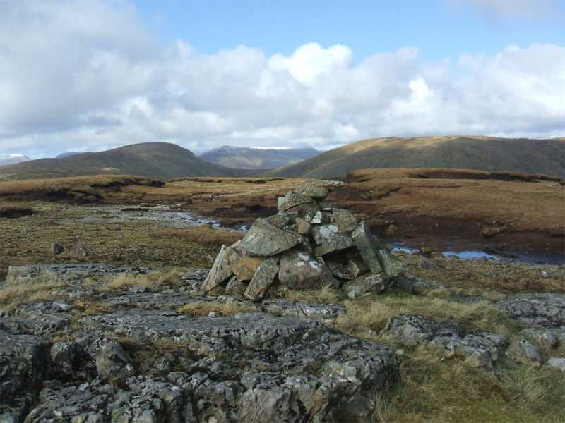 MountainViews.ie Picture about mountain Lugnabrick SW Top in area Partry/Joyce Country, Ireland