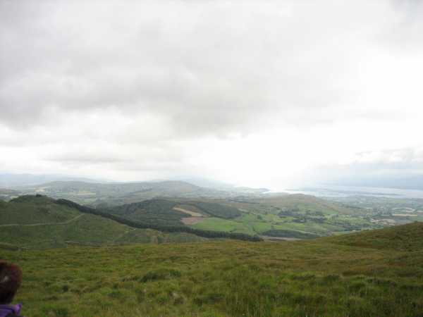 MountainViews.ie Picture about mountain Mullaghmesha in area Shehy/Knockboy, Ireland