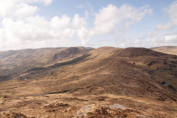 MountainViews.ie Picture about mountain Baurearagh Mountain in area Caha Mountains, Ireland