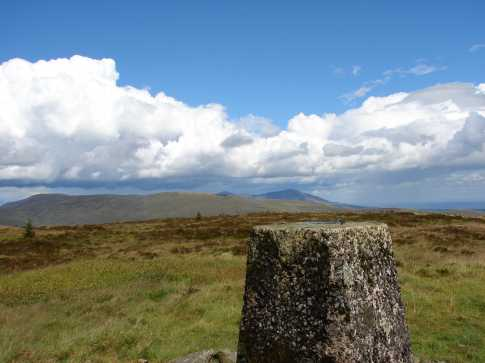 MountainViews.ie Picture about mountain Slievemartin in area Mourne Mountains, Ireland