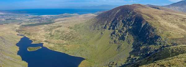 MountainViews.ie Picture about mountain Sliabh na nGabhar in area Central Dingle, Ireland