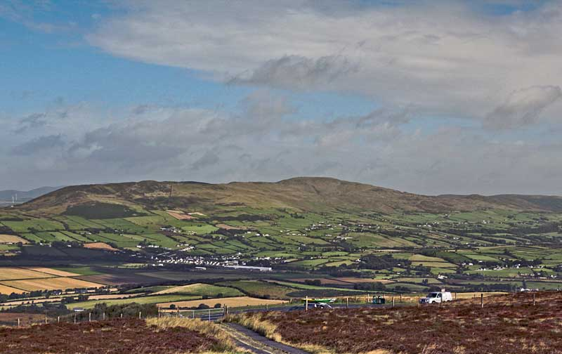 MountainViews.ie Picture about mountain Scalp Mountain in area Inishowen, Ireland