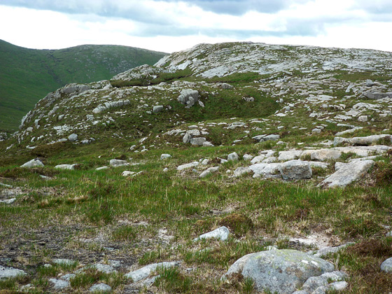 MountainViews.ie Picture about mountain Cruach na Sagart in area Donegal NW, Ireland
