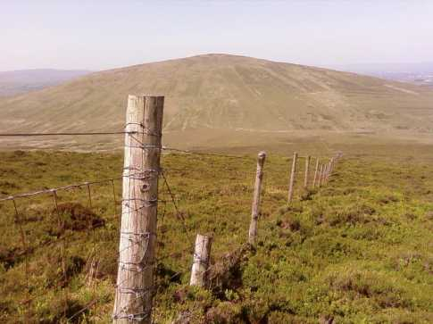 MountainViews.ie Picture about mountain Mullaghash (<i>Mullach Aise</i>) in area Sperrin Mountains, Ireland