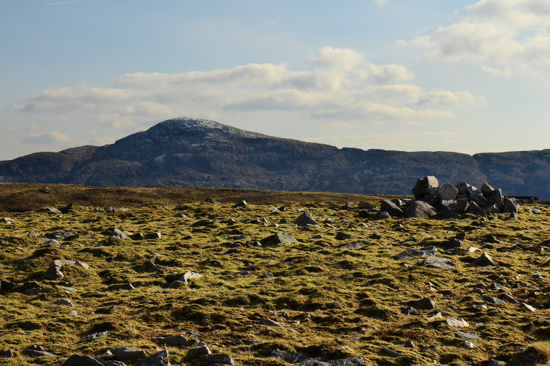 MountainViews.ie Picture about mountain Ard Loch na mBreac Beadaí in area Donegal NW, Ireland