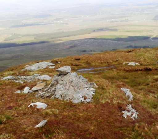 MountainViews.ie Picture about mountain Balbane Hill in area Donegal SW, Ireland